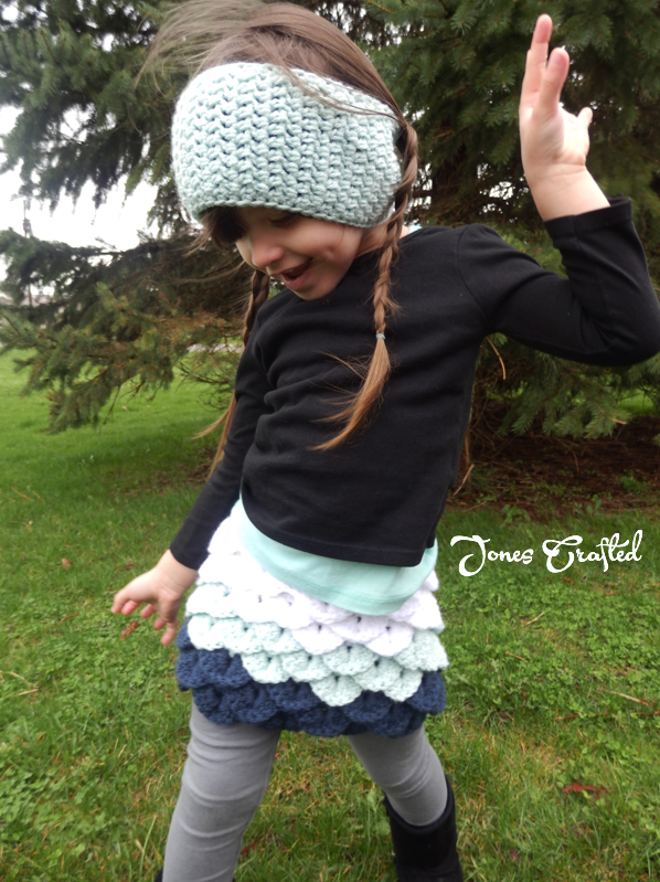Crocodile Stitch Skirt - Jones Crafted