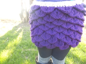 purple-croc-skirt